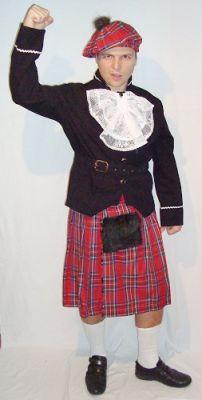 Карнавален костюм - Шотландец