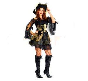 Карнавален костюм - Пиратка -бунтовничка