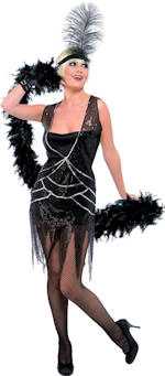 Карнавален костюм - Кабаретна дама