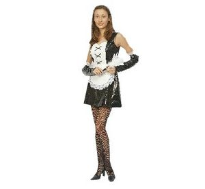 Карнавален костюм - Френска помощница