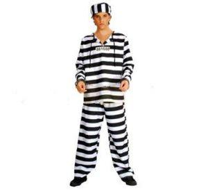 Карнавален костюм - Затворник