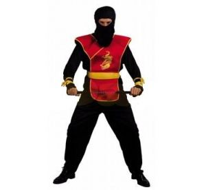 Карнавален костюм - Нинджа - червен