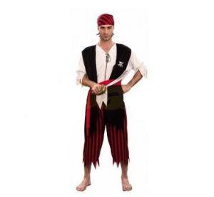 Карнавален костюм - Пират - черен