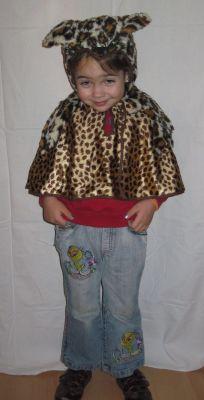 Карнавален костюм -Тигърче
