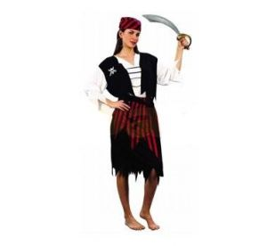 Карнавален костюм - Пиратка-пола