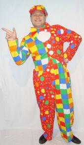 Карнавален костюм - Клоун 2