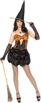 Карнавален костюм - Секси Halloween - вещица