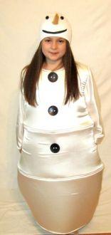 Карнавален костюм - Снежен човек