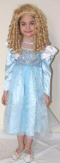 Принцеса - синя блестяща