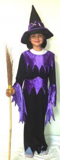 Карнавален костюм - Вещица лилава